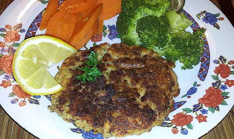 trout -potato-latkes recipe